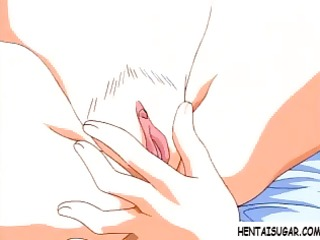 hot young animated blondie receives her pussy