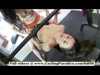 jennifer white and kita zen oriental brunette