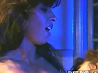 sexually excited lesbian babes copulates on
