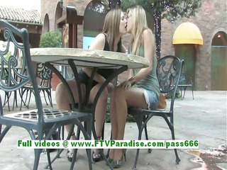 leslie and danielle superb lesbo sweethearts